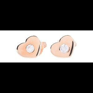 Authentic Tiffany Earrings 18k Rose Gold